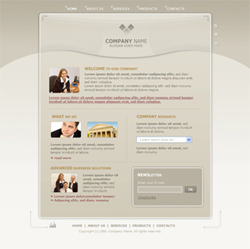 Free General, Basic Website Template