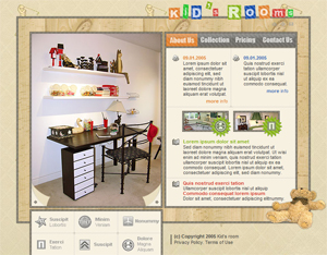 Baby, Kids, Children, Free Website Template