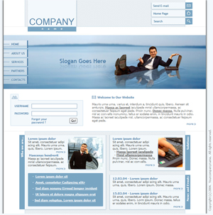 business general basic free website template download demo - Html Templates Free Download
